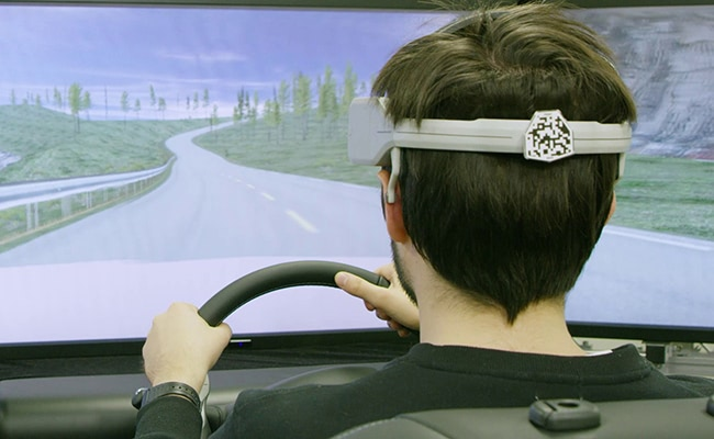 Visual of Brain-assisted driving: Mind-control your car