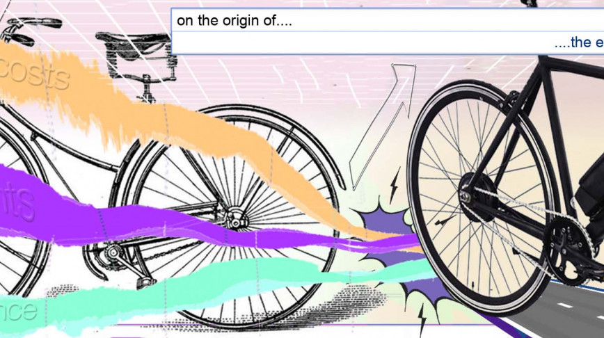 Visual of On the origin of the e-bike