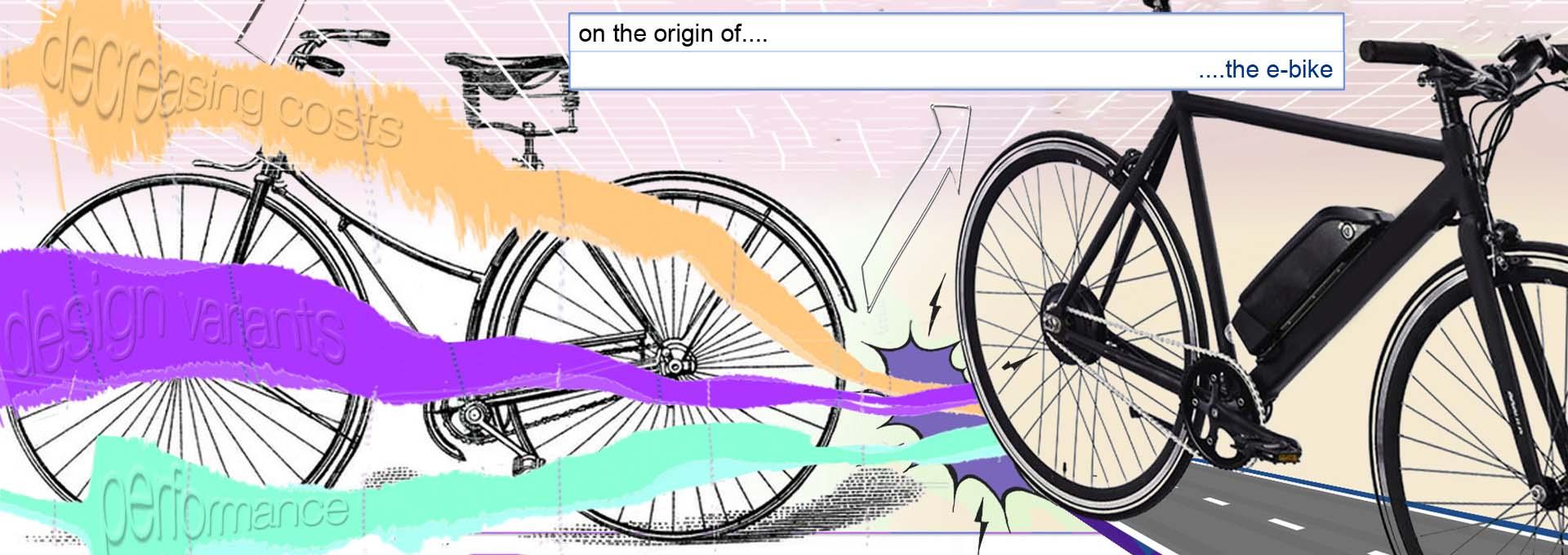Visual of On the origin of the e-bike