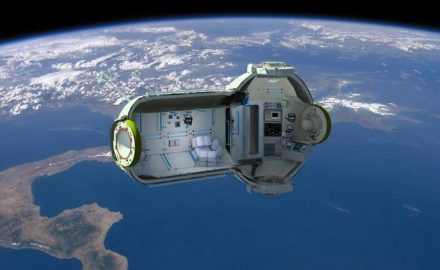 Visual of Space Tourism: Your next vacation destination might not be on Earth