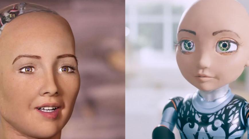 Visual of Sophia the Robot has a sister: Little Sophia