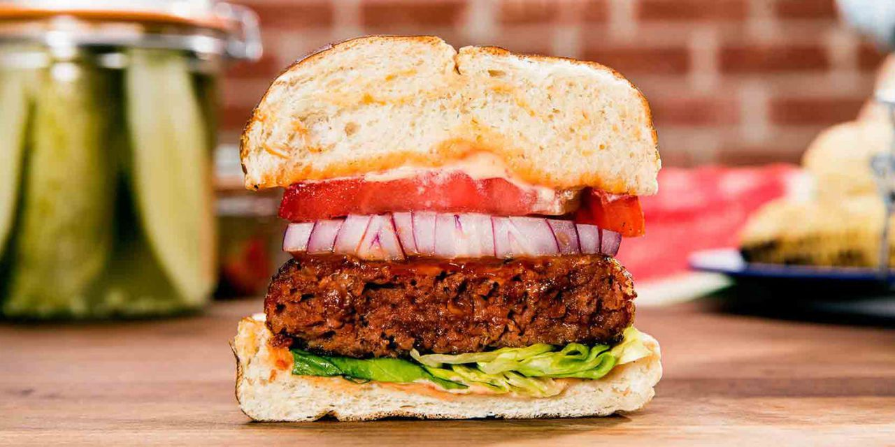 Visual of A vegan meat revolution is coming to global fast food chains