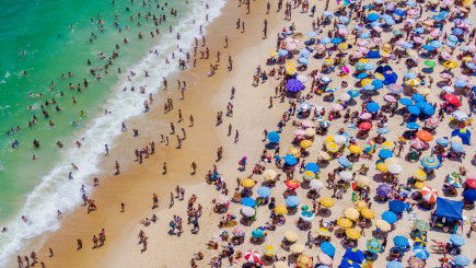 Visual of Why half of the world's beaches could disappear by 2100