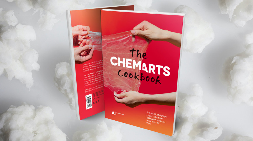 Visual of Cooking and chemical engineering with the CHEMARTS Cookbook