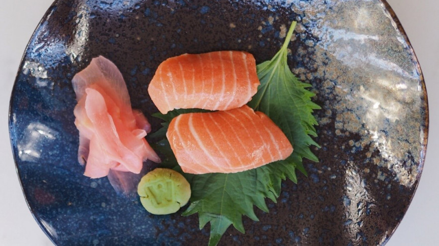 Visual of This startup is growing sushi-grade salmon from cells in a lab