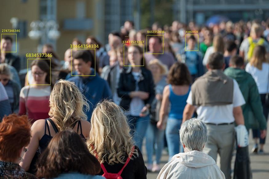 Visual of How public camera recordings domesticate us