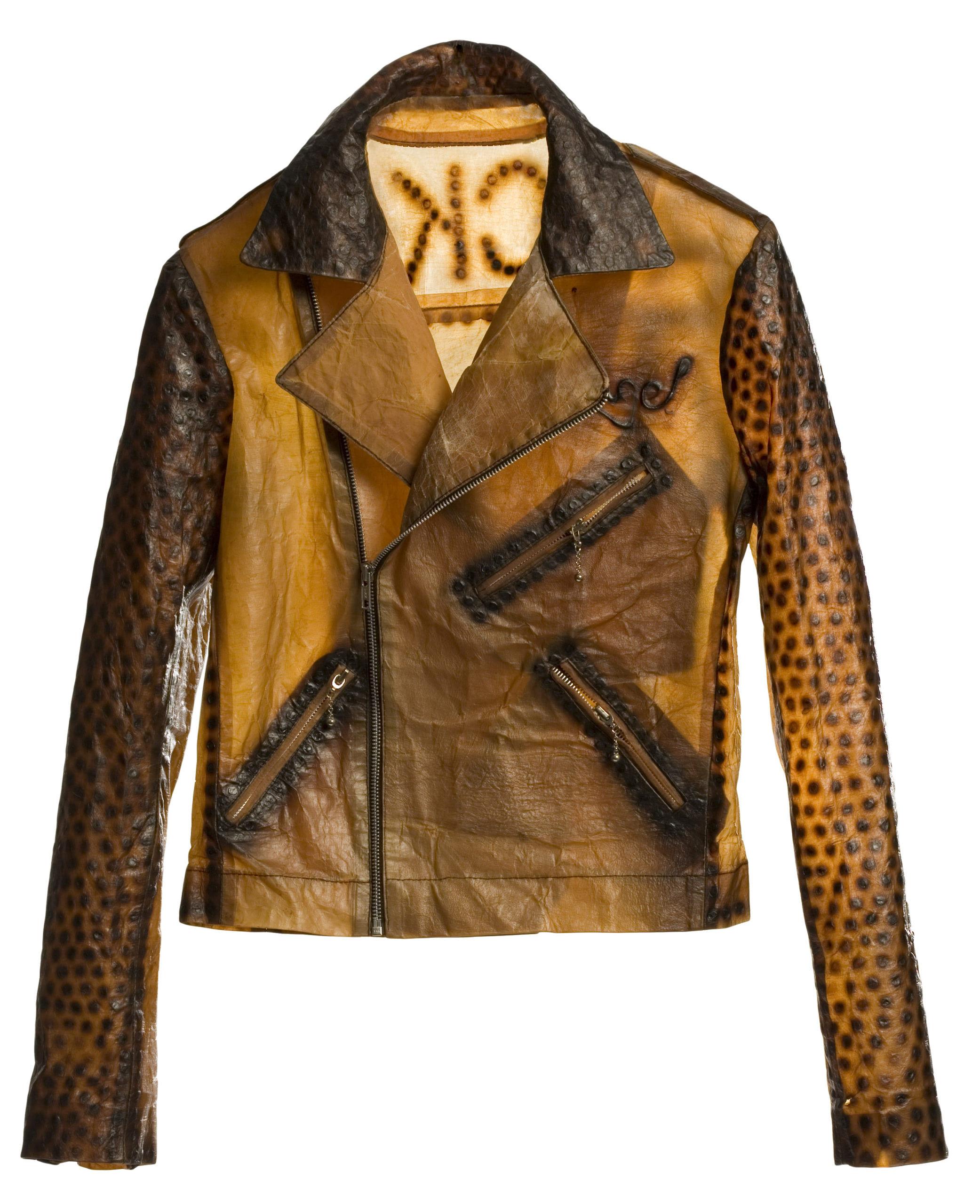 BiocoutureTM Biker Jacket, 2006, ©Biofabricate