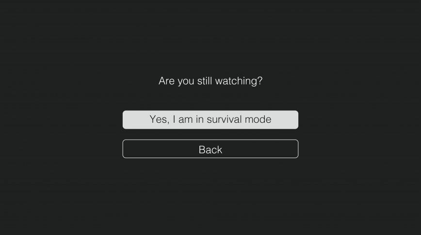 Visual of Netflix: Symbol of quarantine