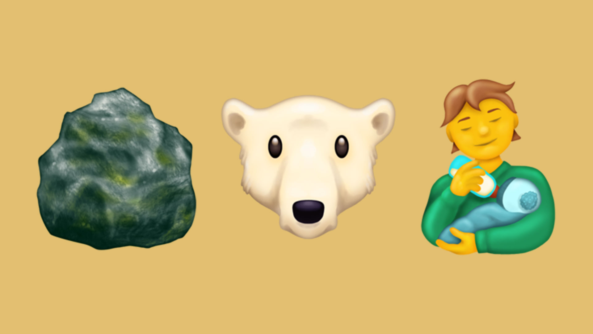 Visual of How emojis represent the past, present and future within Next Nature