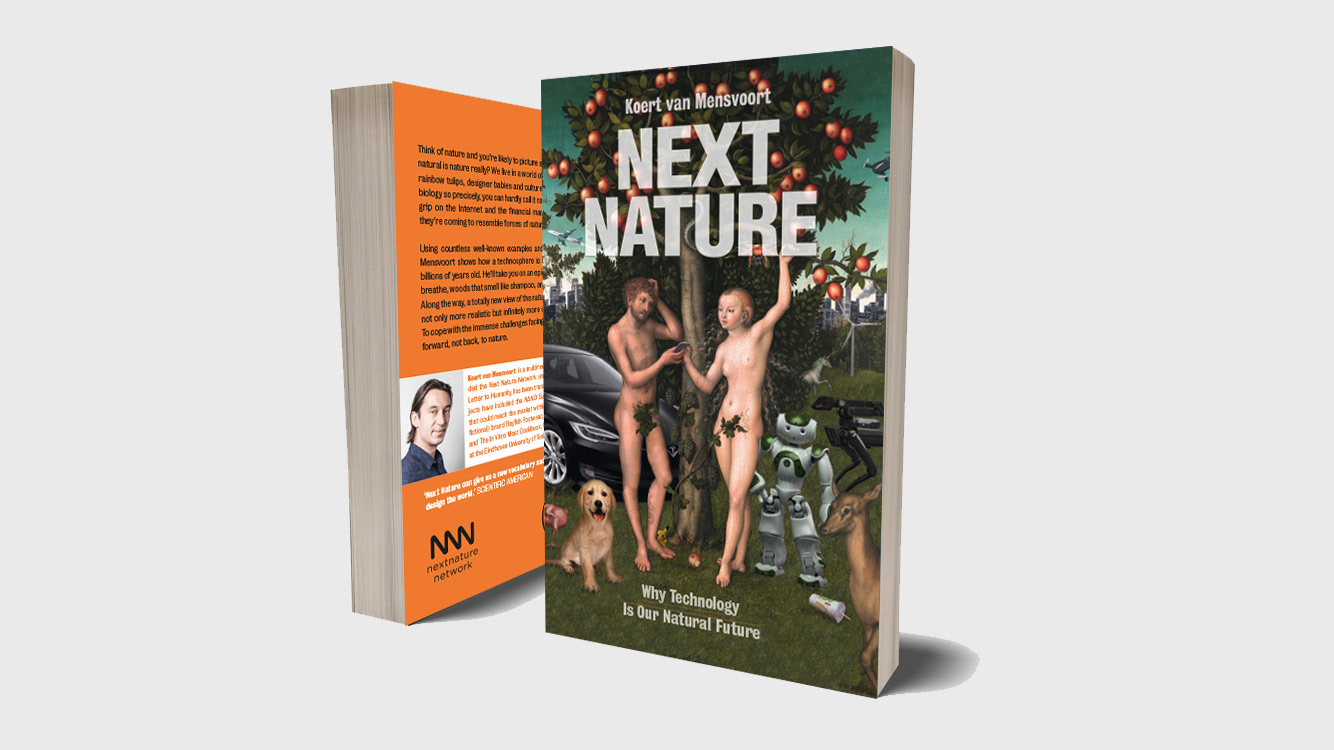 Visual of The new Next Nature book is here!