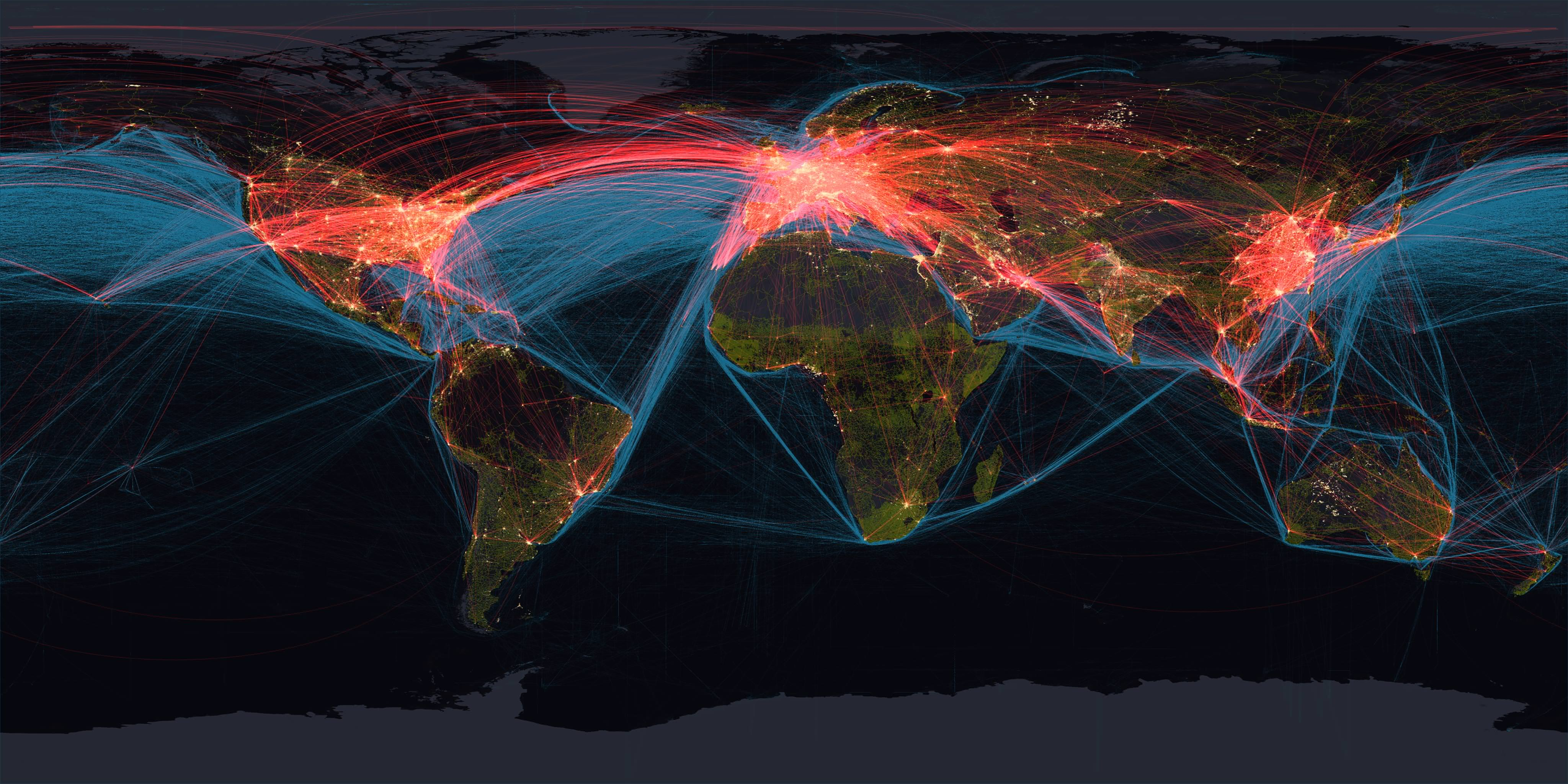 Visual of Towards a global society as a superorganism