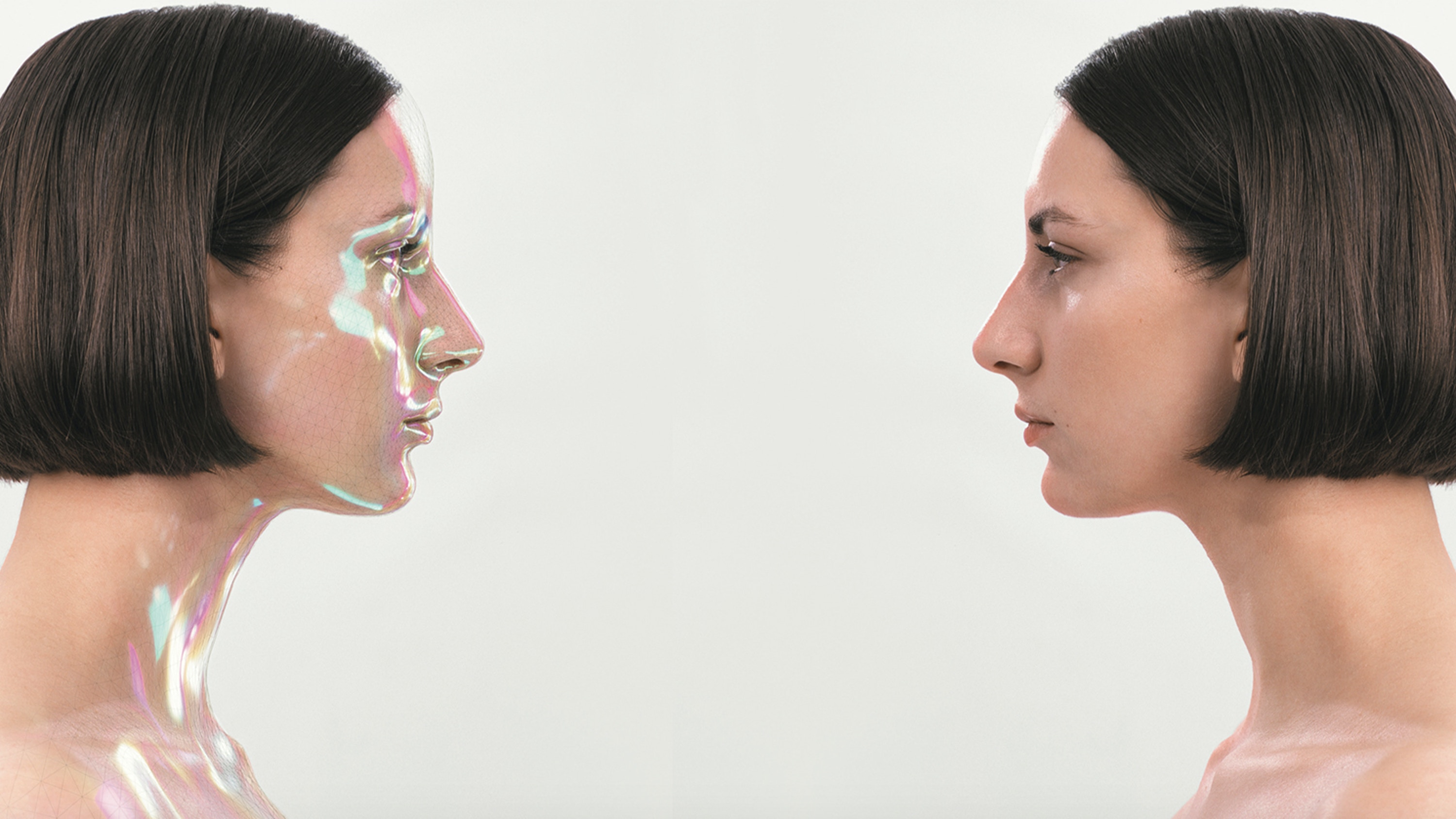Visual of Virtual makeup: maybe they're born with it, maybe it's XR