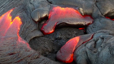 Visual of A message from volcanic rocks