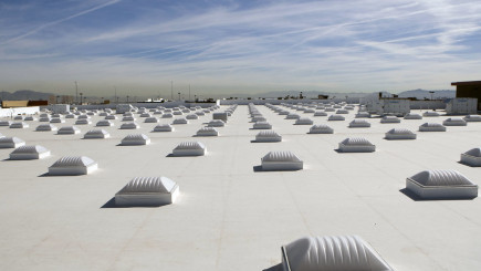 Visual of Cooling buildings with ultra-white paint