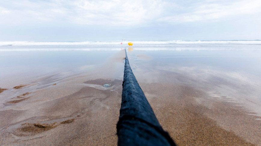 Visual of How telecommunication cables could help detect earthquakes