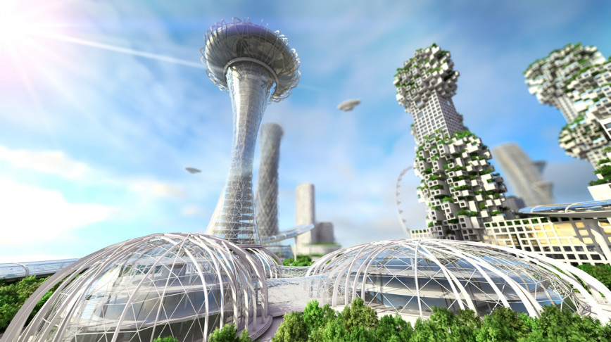 Visual of Future cities: We need to reimagine the look of urban landscapes