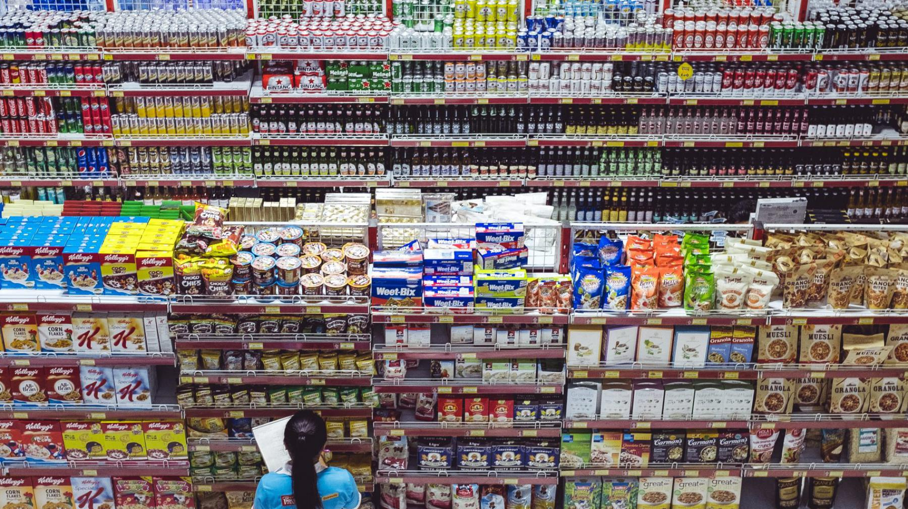 Visual of What will your future supermarket look like?