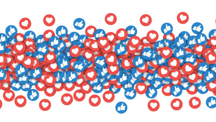 Visual of Social media 'likes' change the way we feel about our memories