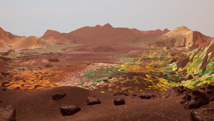 Visual of Colonizing Mars: Not with humans, but plants