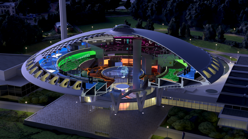 Visual of Welcome to New Evoluon