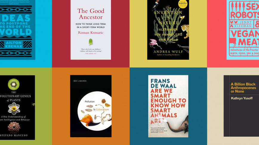 Visual of What our Next Nature fellows are reading this summer