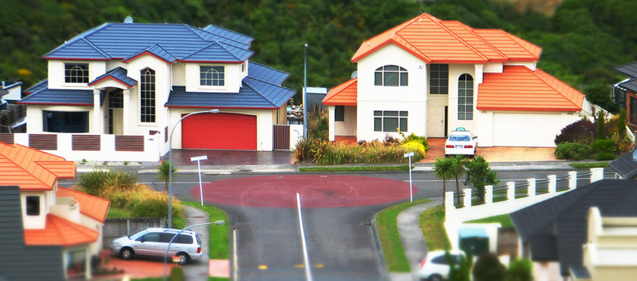 Visual of Suburban Utopia