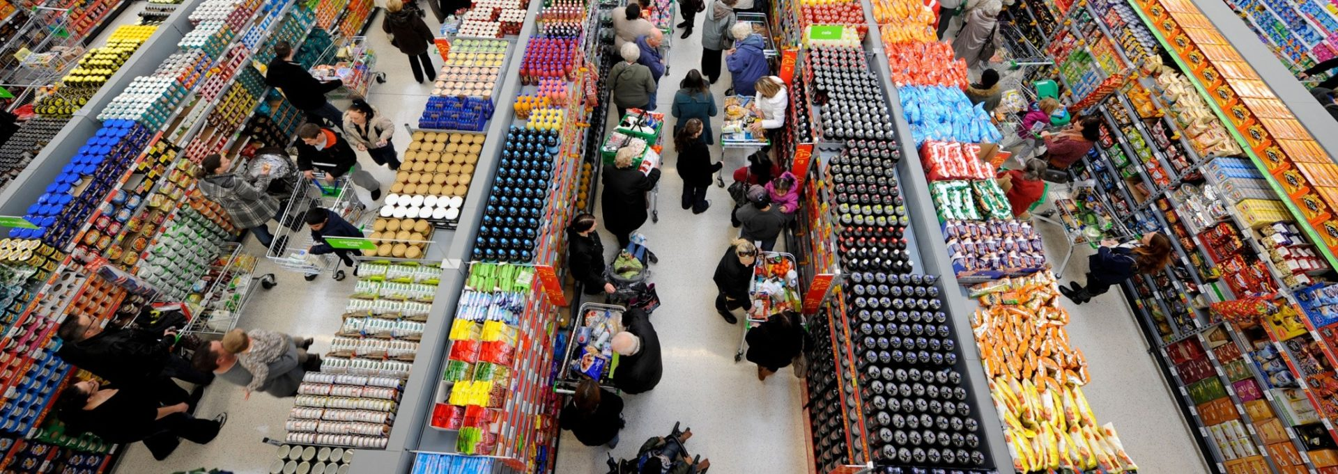 Visual of Supermarket