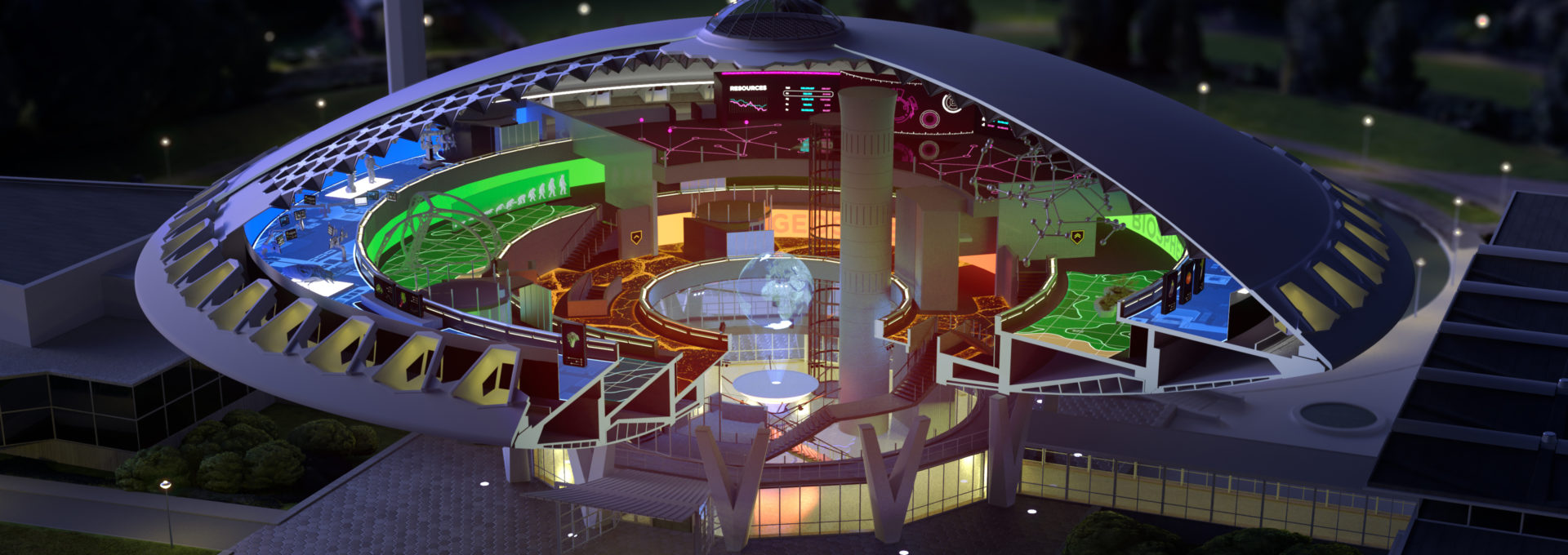 Visual of New Evoluon