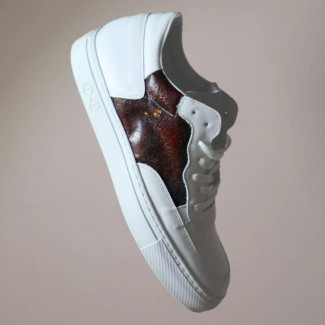 Visual of Blood Sneaker