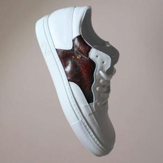 Visual of Blood Sneaker
