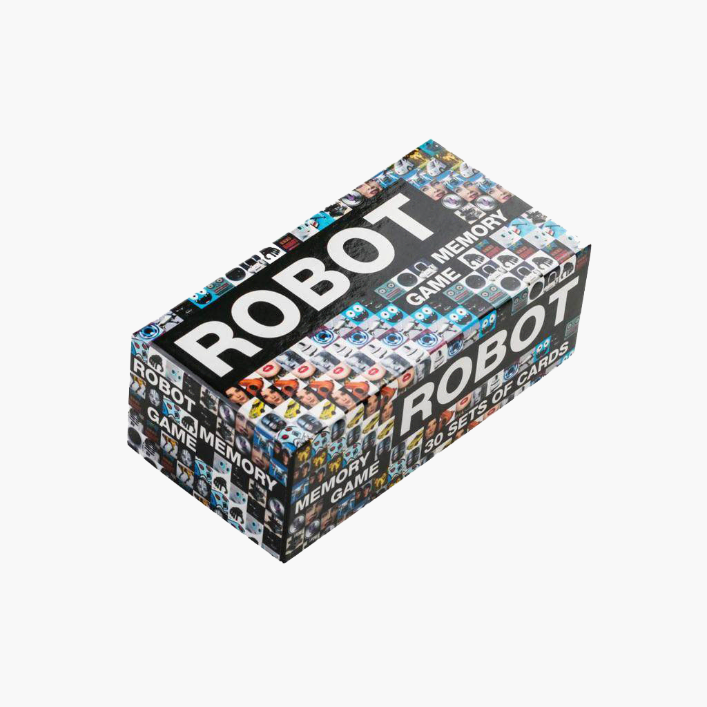 Visual of Robot Memory Game