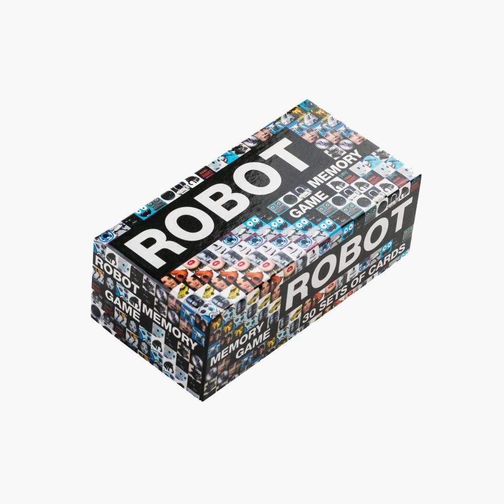 Visual of Robot Memory Game