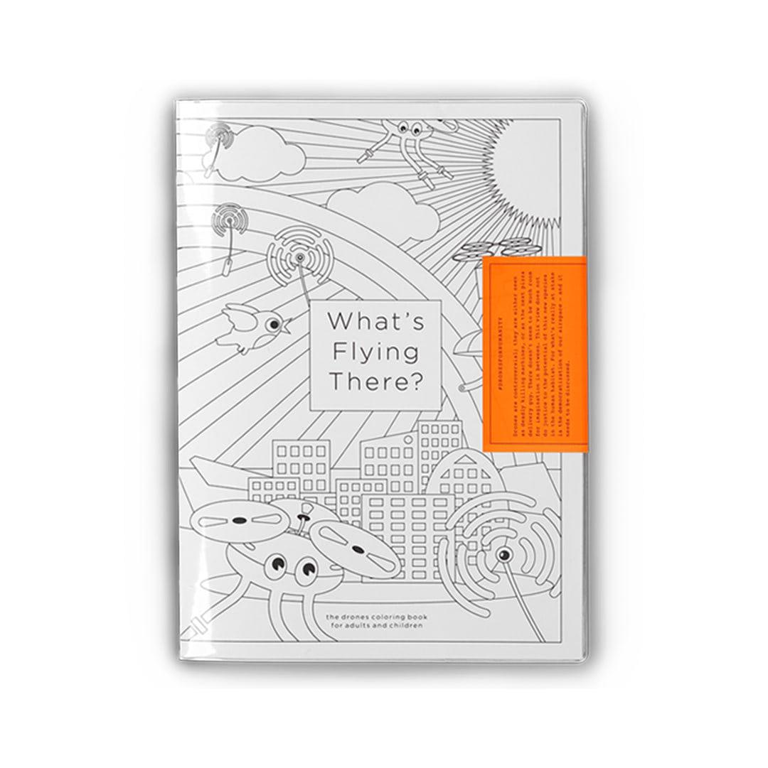 Visual of Wat Vliegt Daar? Kleuringboek